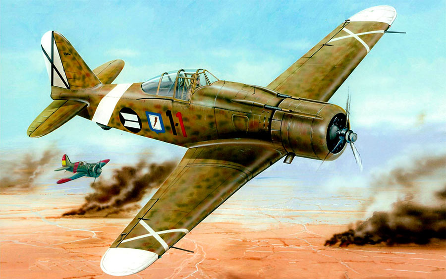 Истребитель Fiat G.50 «Freccia»
