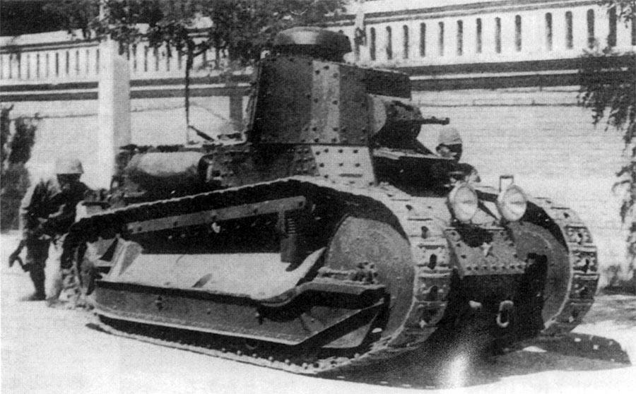 Итальянский легкий танк Fiat 3000