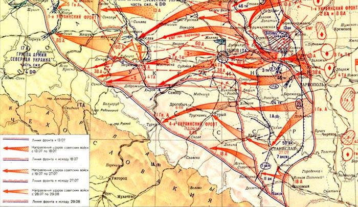 Все фронты Великой Отечественной войны: даты создания и командующие фронтов