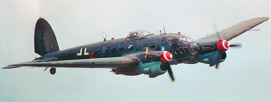 Бомбардировщик Heinkel He.111