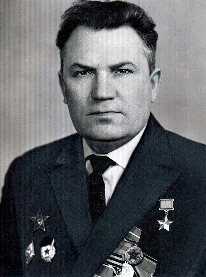 Григорий Николаевич Найдин, послевоенное фото