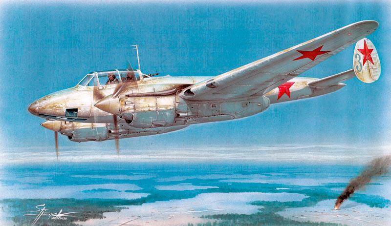 Пикирующий бомбардировщик Пе-3
