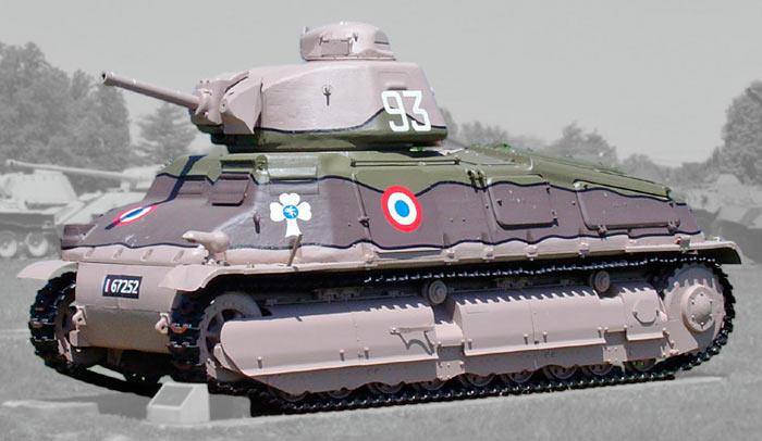 Кавалерийский танк SOMUA S-35 (Франция)