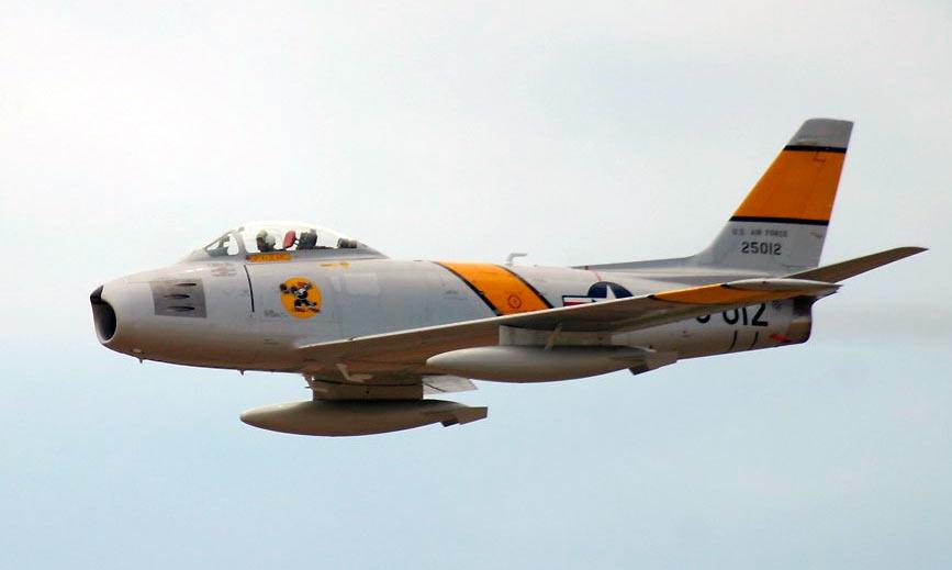 Истребитель F-86 «Сейбр»
