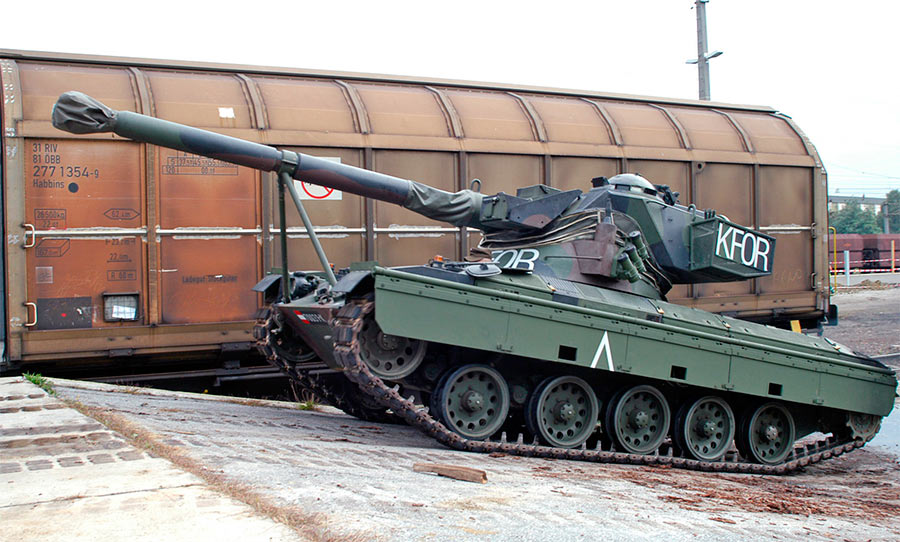 Австрийский легкий танк SK-105 «Кирасир»