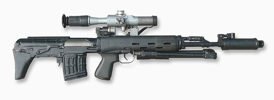 Снайперская винтовка Драгунова укороченная, СВДУ