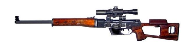 ТСВ-1 - тренировочная снайперская винтовка