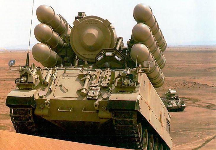 Зенитная ракетная установка АМХ-30C1 «Shanine-2»