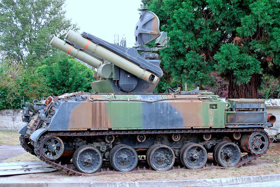 Зенитная ракетная установка AMX-30R (Roland)