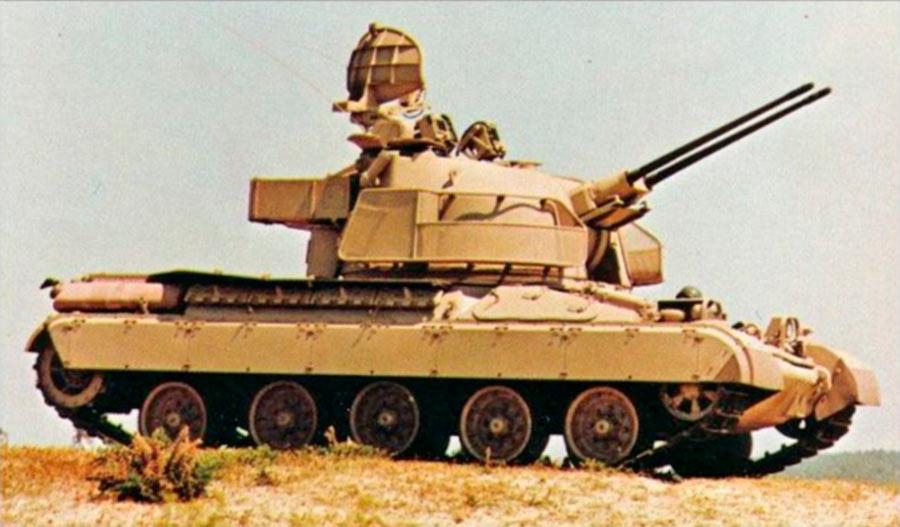 Зенитная самоходно-артиллерийская установка AMX-30SA