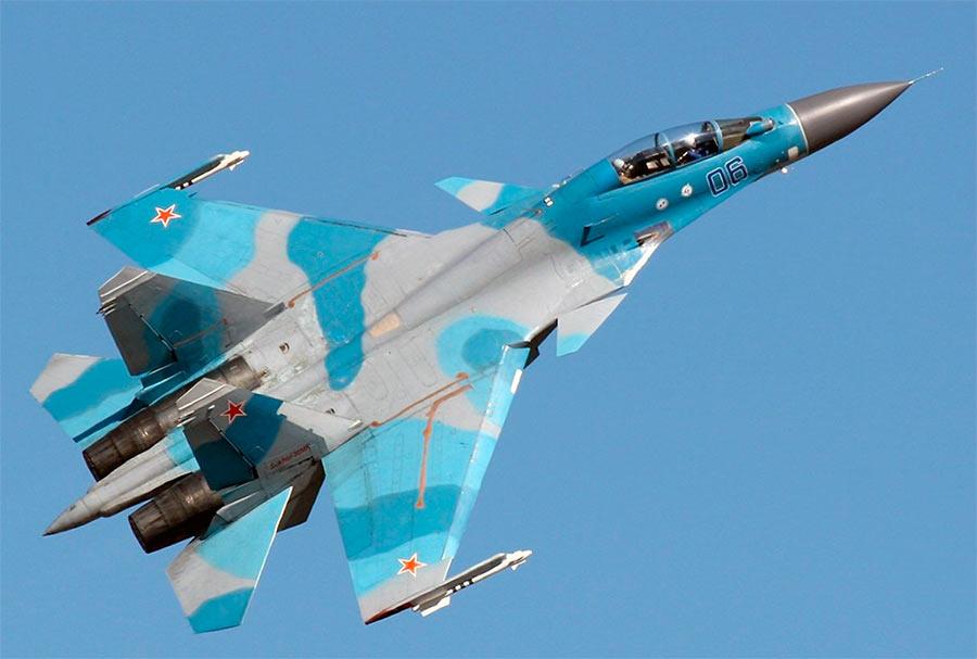 Многоцелевой истребитель-бомбардировщик Су-30
