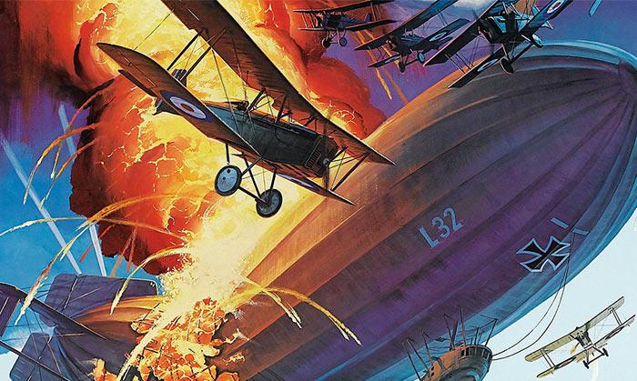 Авиационное вооружение Первой мировой войны