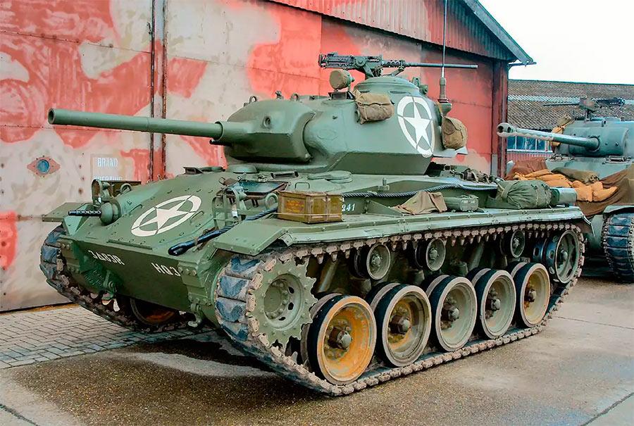 Легкий танк M24 «Чаффи»