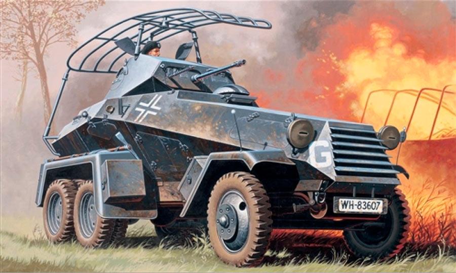Немецкие бронеавтомобили Sd Kfz 231/232/263 (6-Rad)