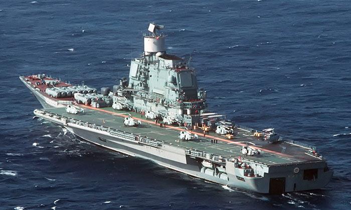 Служба тяжелых авианесущих крейсеров проекта 1143, 1143.2, 1143.3, 1143.4  («Кречет»)