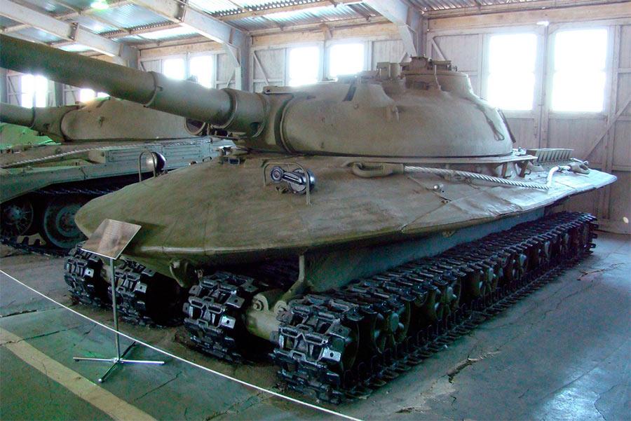 тяжелый российский танк