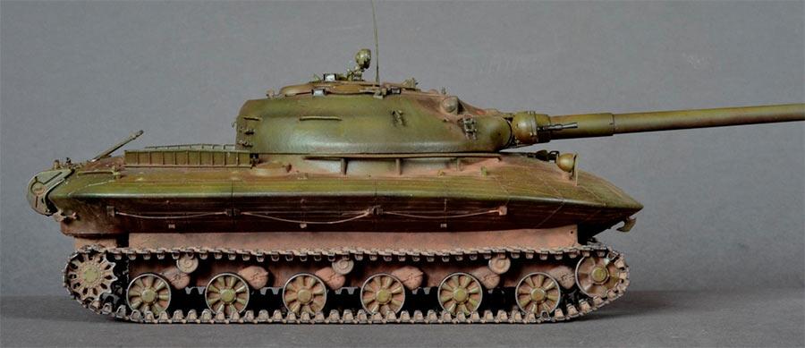 Тяжелый танк «Объект 279» сбоку. Выглядит как вполне обычный танк, не правда ли?