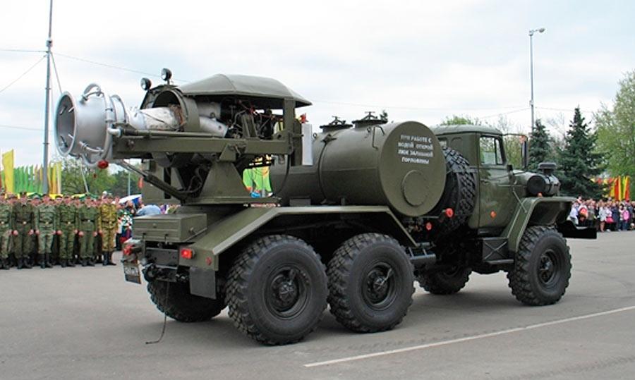 Автобронетехника войск радиационной, химической и биологической защиты
