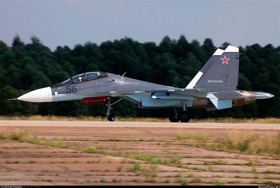 Истребитель-бомбардировщик Су-30СМ