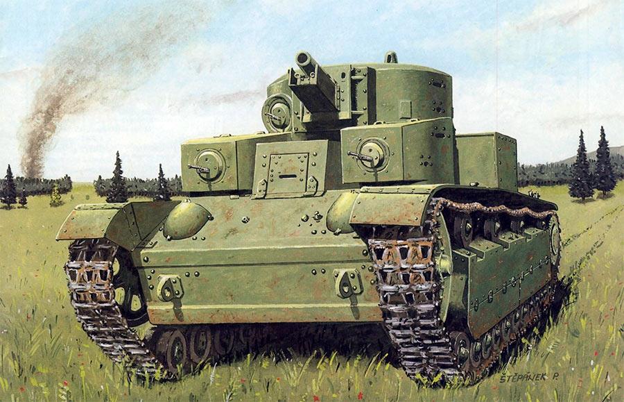 Советский средний танк Т-28