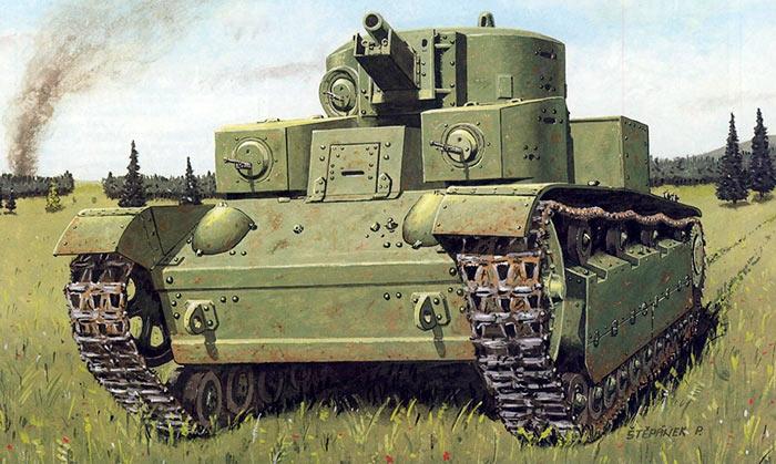 Воспоминания Федора Наумова о боях на танке Т-28