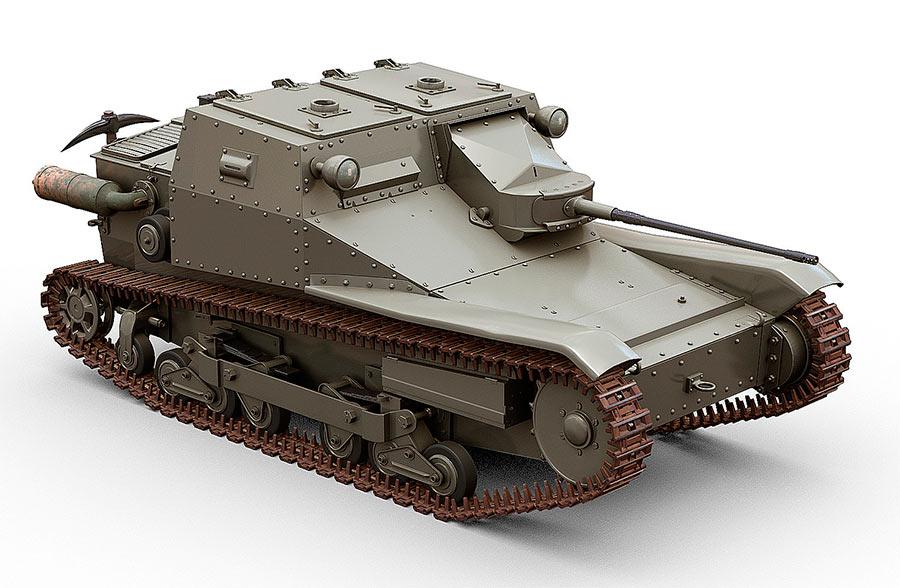 ТанкеткиCV3/38 в версии «истребителя танков»