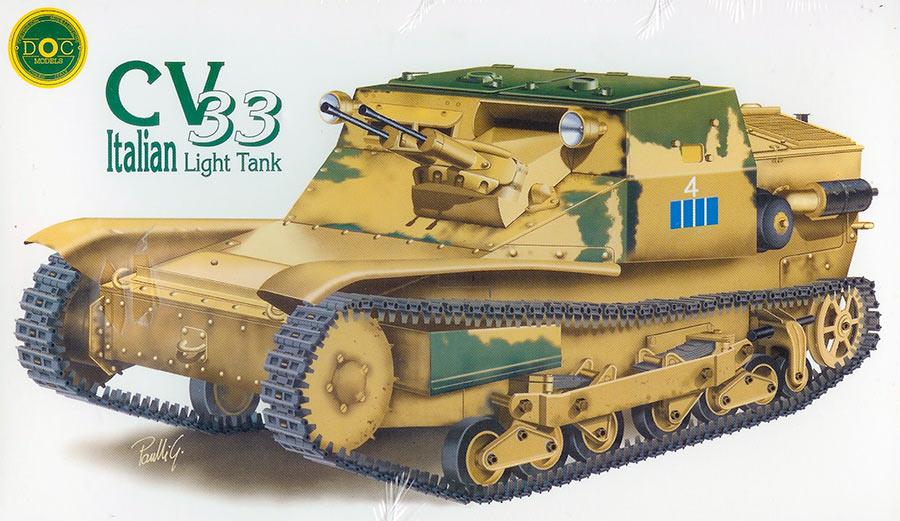 Танкетка CV3/33, CV3/35, CV3/38 (Италия)