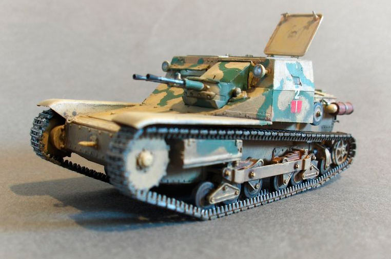 Модель танкетки CV3/33