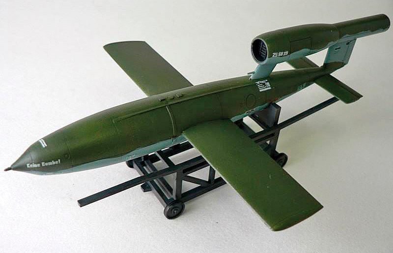 Самолет-снаряд Fi.103 (Фау-1, V-1) в беспилотном варианте