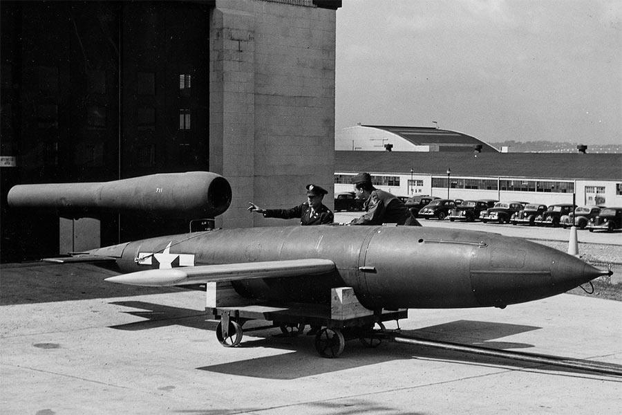 Fi-103 «прихватизированный» американцами