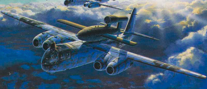 Fi.103 (Фау-1, V-1) транспортируемый на самолете Ar-234