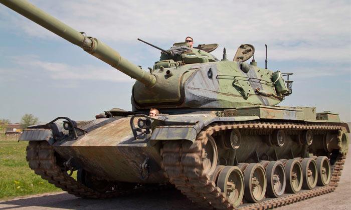 Основной боевой танк М60