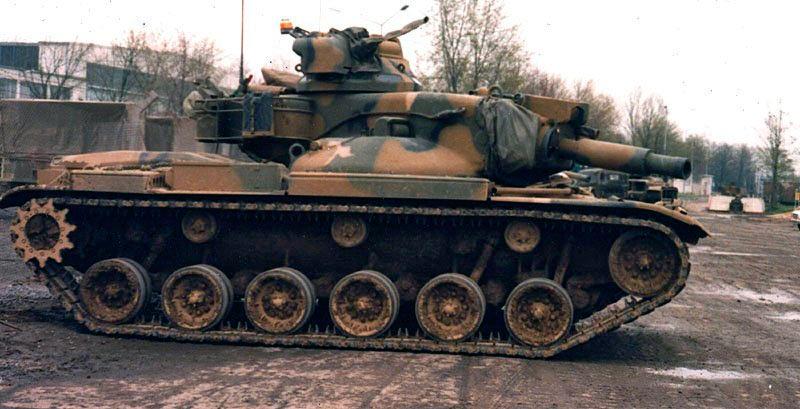 Модификация M60A2