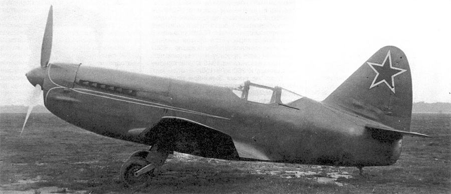 Серийный истребитель И-250 (МиГ-13)