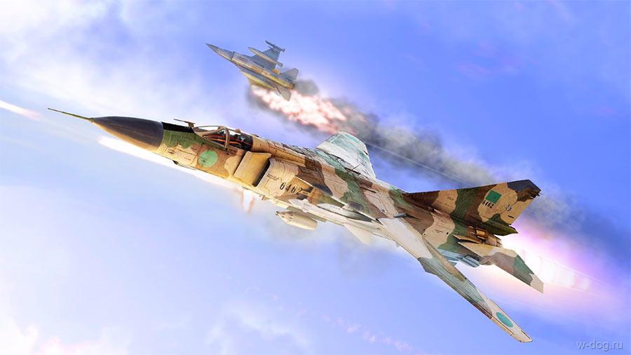 МиГ-23 против F-16
