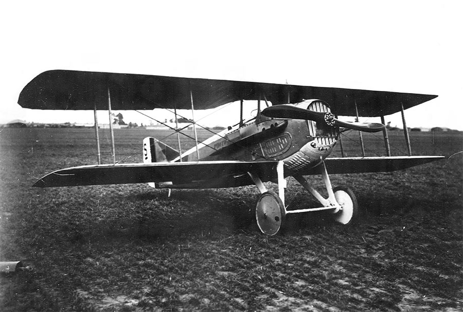 SPAD S.7 - один из лучших истребителей Первой мировой войны