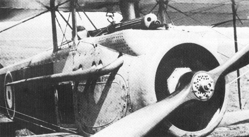 Вооружение SPAD S.7 - 1 синхронный пулемет