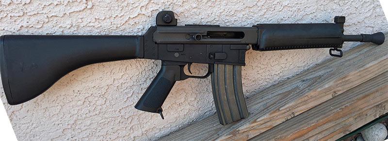 AR-18S - укороченный вариант штурмовой винтовки AR-18
