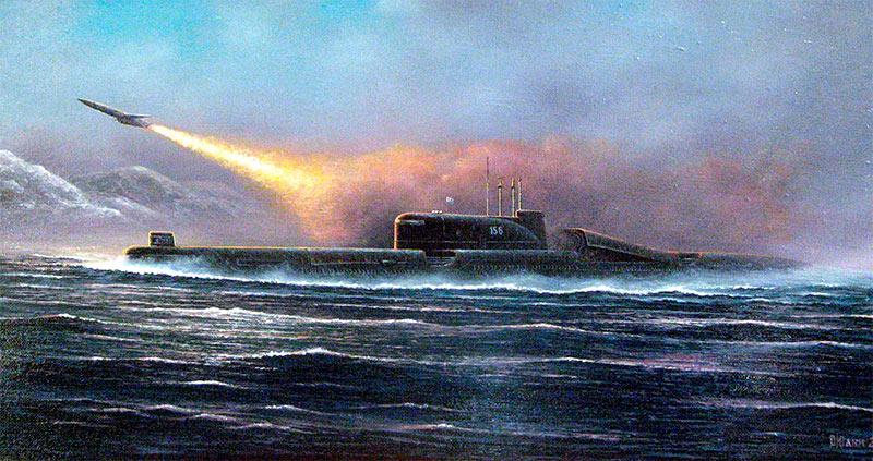Дизель-электрическая подводная лодка проекта 651