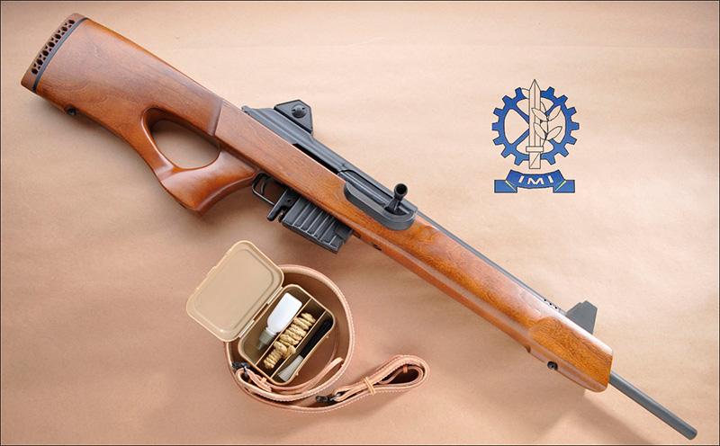 Гражданская версия винтовки Galil Hadar. Тот же «Галиль», но в другом корпусе и рассичтанный на патроны .303
