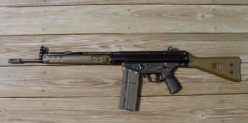 Немецкая штурмовая винтовка H&K «Gewehr-3»