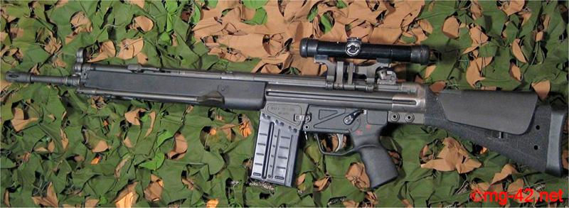 Штурмовая винтовка H&K «Gewehr-3»