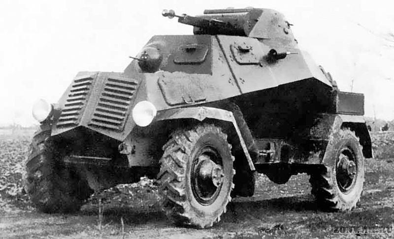 Бронеавтомобиль ЛБ-62
