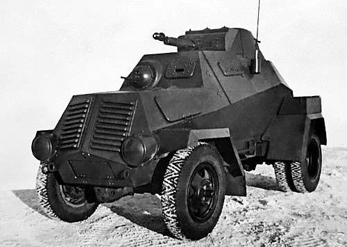 Бронеавтомобиль ЛБ-62.