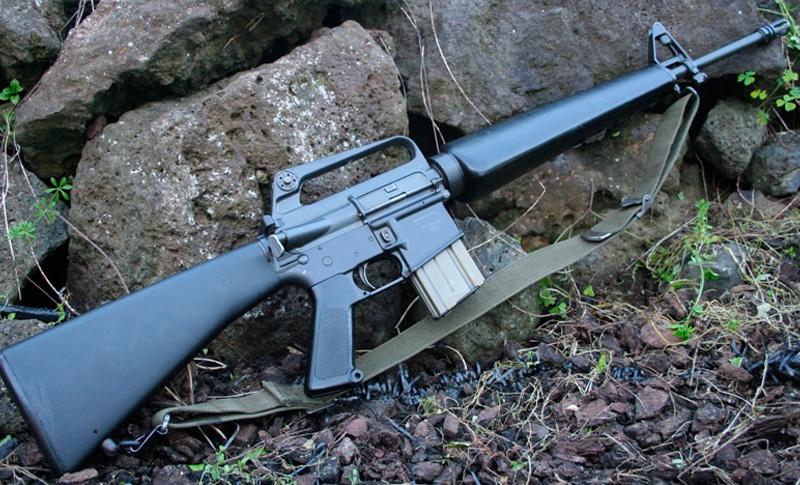 Штурмовая винтовка М-16