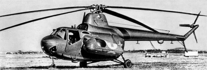 Специальный медицинский вертолет Ми-3
