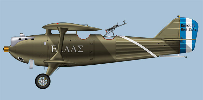 Разведывательный самолет «Breguet-19» A2