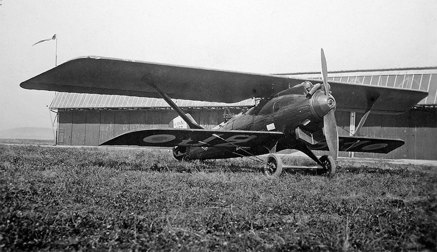 Французский разведывательный самолет «Breguet-19» A2