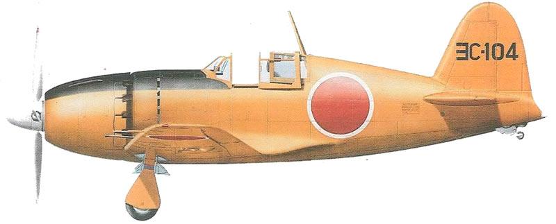 Прототип «Рейдена» J2M3 - наиболее массового из выпущенных вариантов истребителя-перехватчика