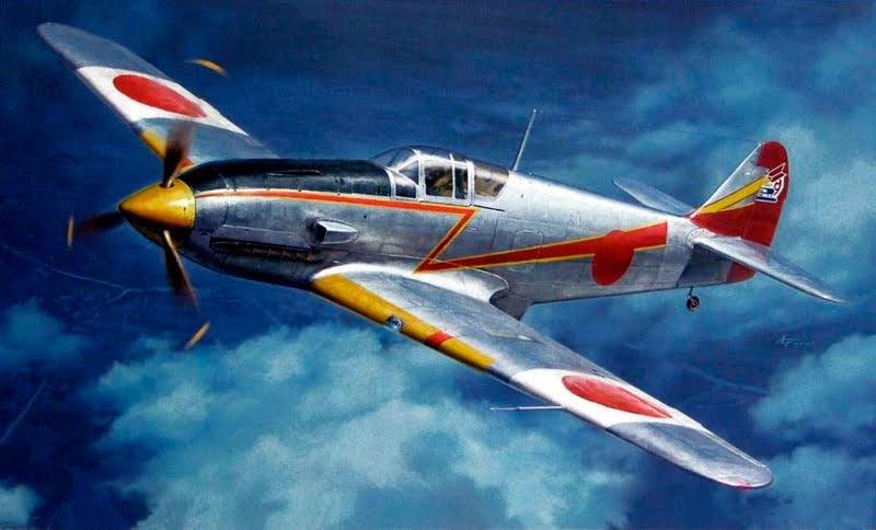 Японский истребитель Ki-61 «Ласточка»
